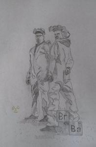 Breaking Bad Jesse & Heisenberg
