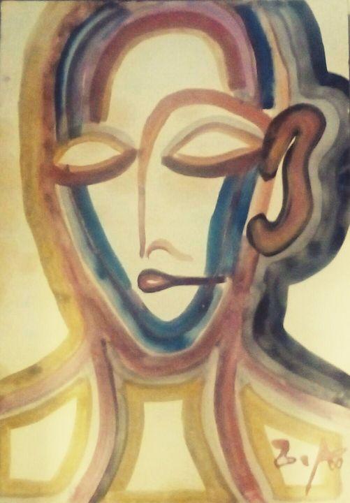 Woman's image - Ze'ev Amzalem