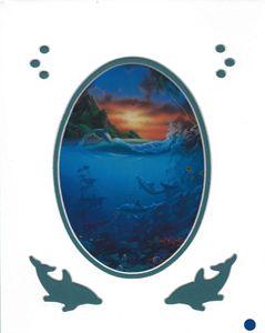 Dolphin Dawn by David Miller