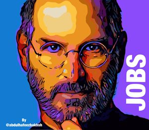 Steve jobs ️️Digital portrait
