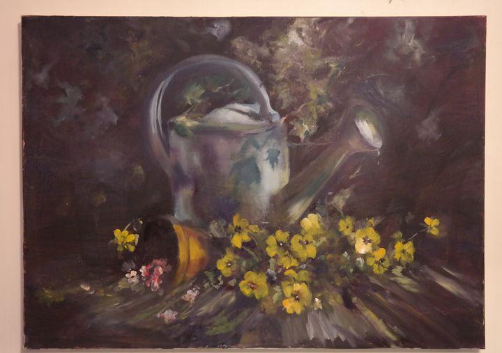 The dark garden - Yelena Falkovsky