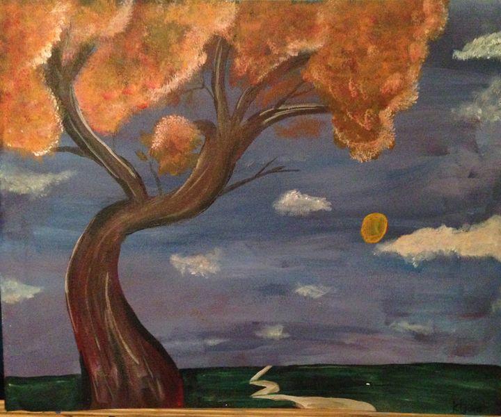 Autumn Sky - Karen Carney
