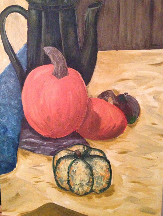 Autumn Still Life - Karen Carney