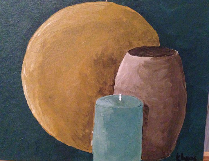Monochromatic Still Life Three Times - Karen Carney