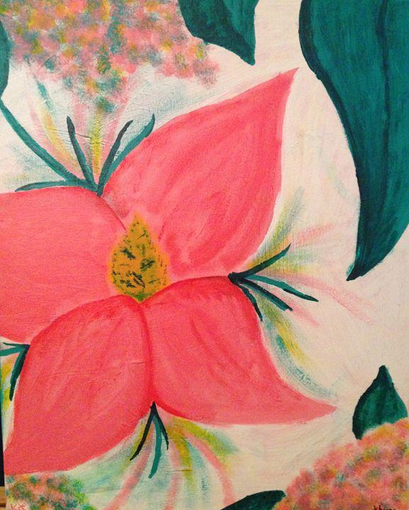 Pink Flower - Karen Carney