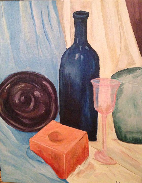 Glass Still Life - Karen Carney
