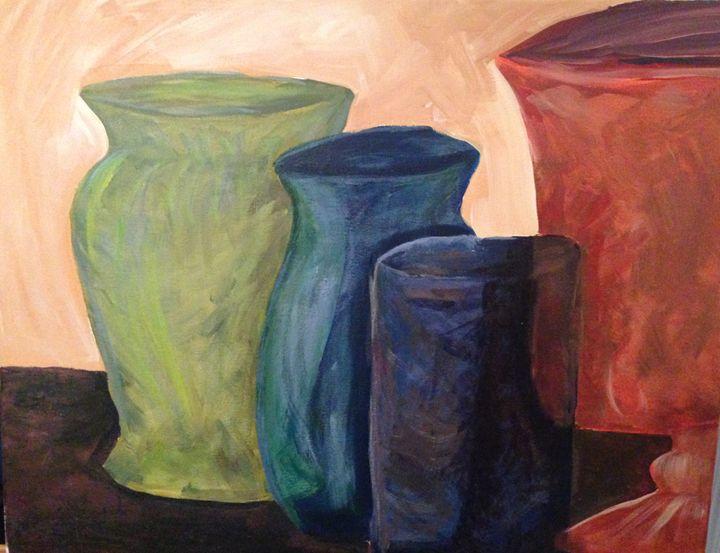 Vase Still Life - Karen Carney