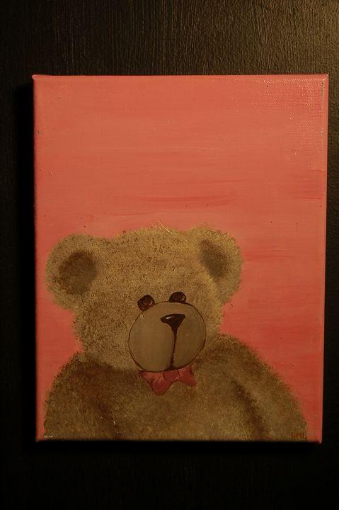 NURSERY_BEAR_PINK - AcrylicToad
