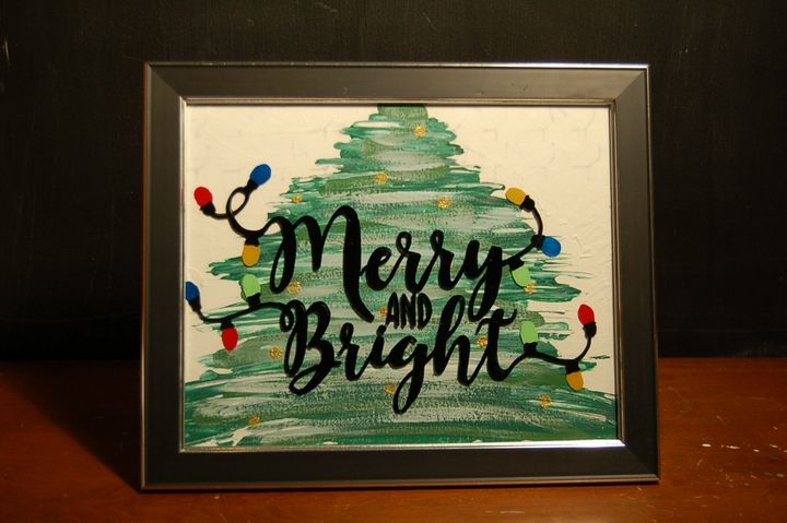 GLASS_MERRY&BRIGHT (SOLD) - AcrylicToad