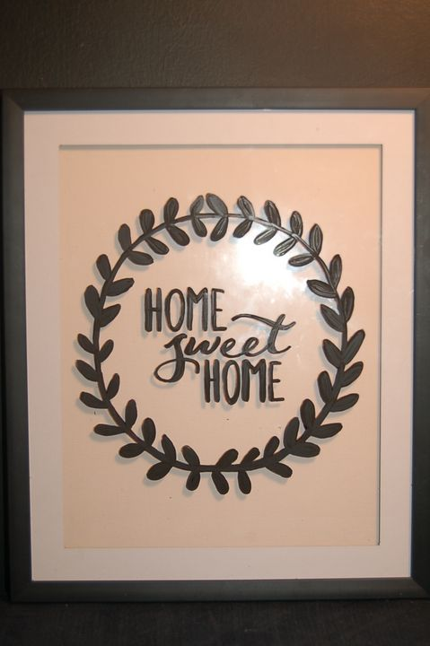 GLASS_home sweet home - AcrylicToad