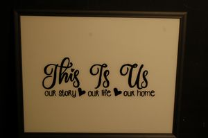 This is US- GLASS PAINTING