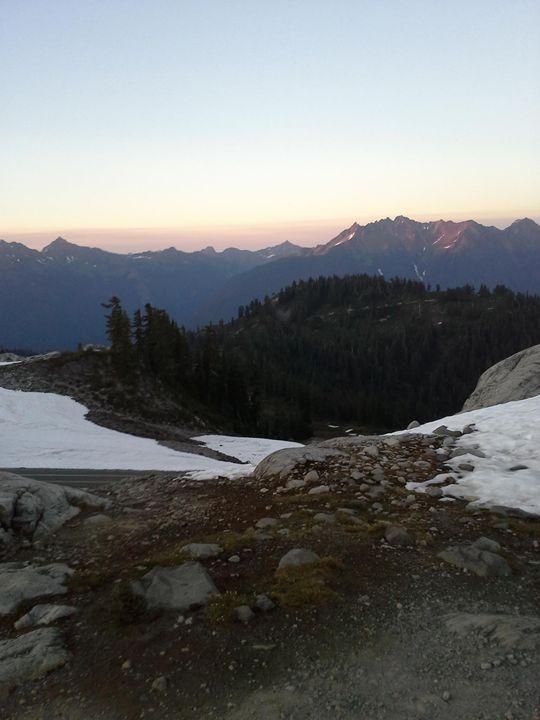 Evening in the Mountains - Jordan Burke