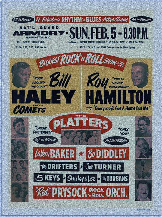 Rock an Roll Bill Hayley - The Muirhead Gallery