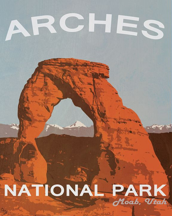 Nation Park Moab Utah - The Muirhead Gallery