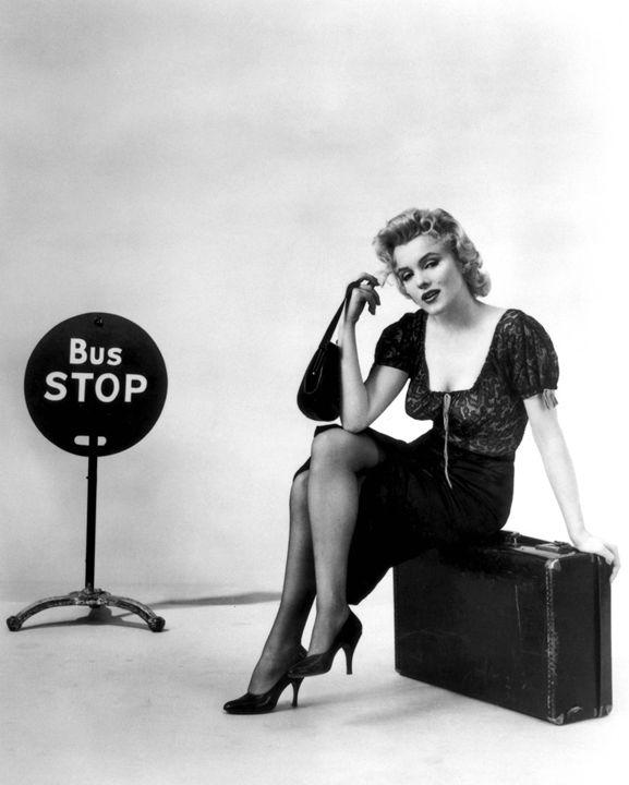 BUS STOP Sexy Marilyn Monroe - The Muirhead Gallery