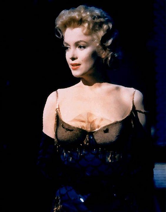 Marilyn Monroe painting bus stop - The Muirhead Gallery