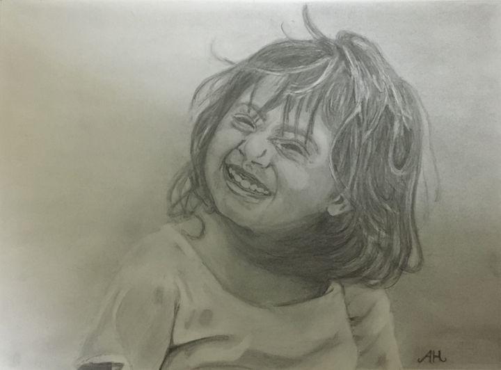 Litle Cute Girl - Memories To Sketch