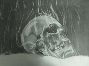 The Smoking Skull