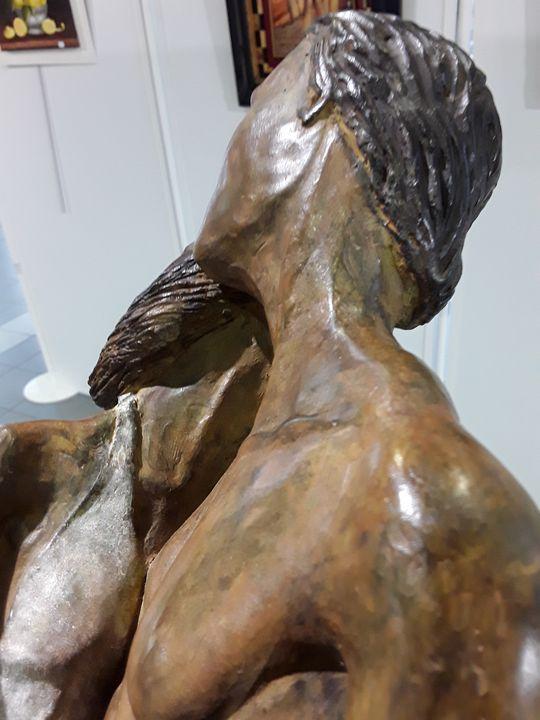 L'HESITATION - Coudrain-Sculpteur