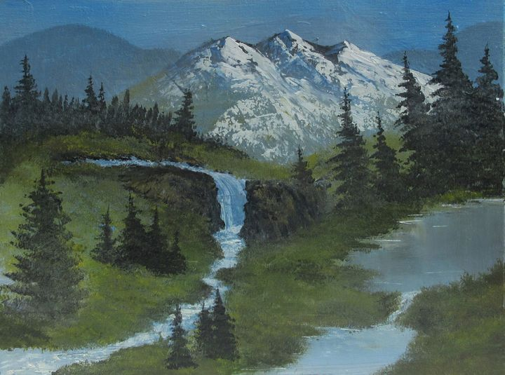 Meadow waterfall - Forrest Girrard
