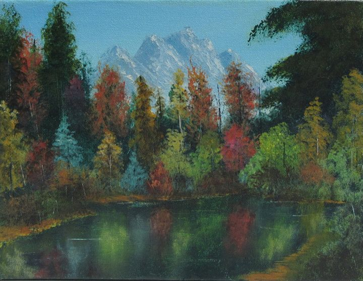 Autumn at the pond - Forrest Girrard