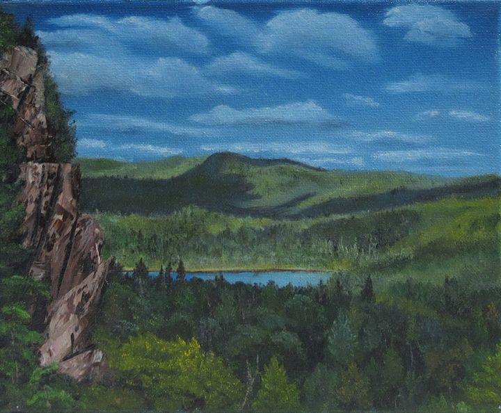 Maine lake - Forrest Girrard