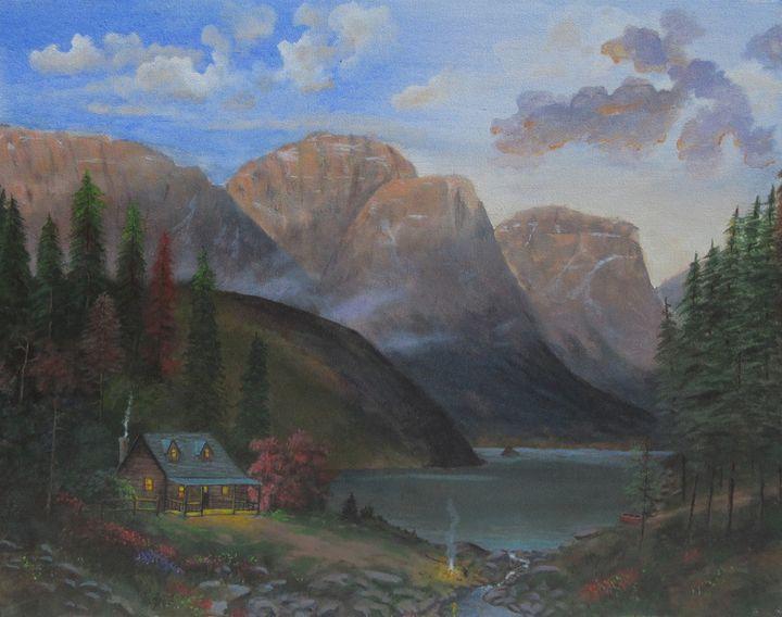 Mountain Cabin - Forrest Girrard