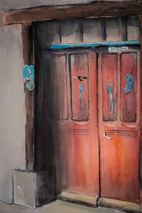French Door III - Philip Lodwick Wilkinson
