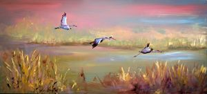 Sand Cranes