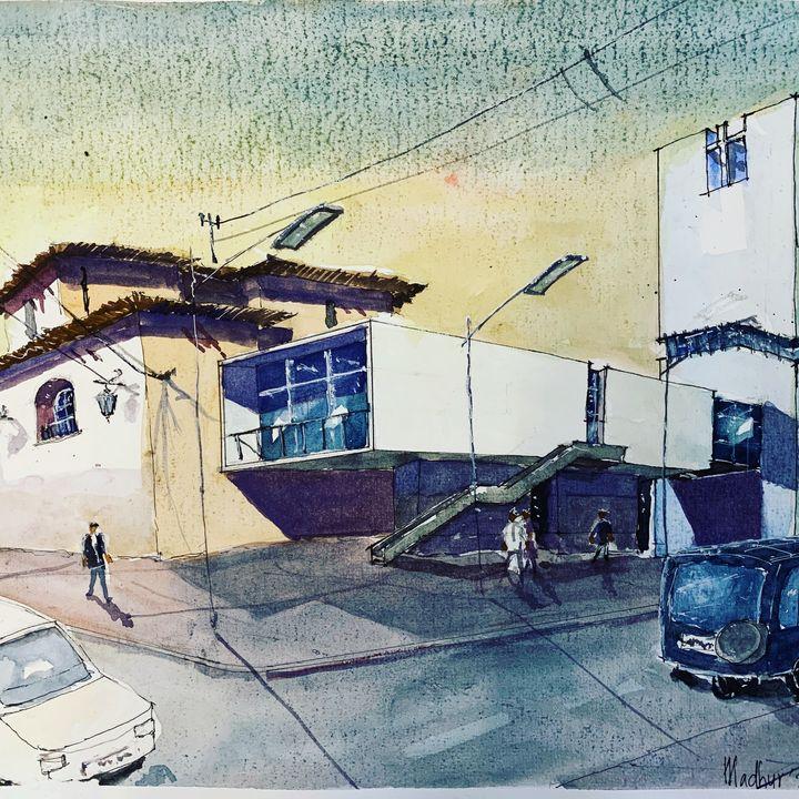 A Museum on street - Madhur's art