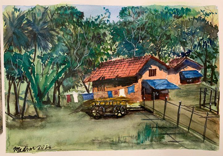 Konkan House - Madhur's art