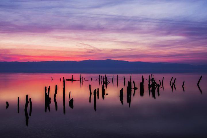Sunset  blues - Landscape