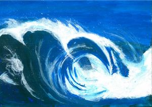 Waves on the race