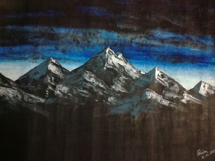 Mountain - Amina Ashrafi