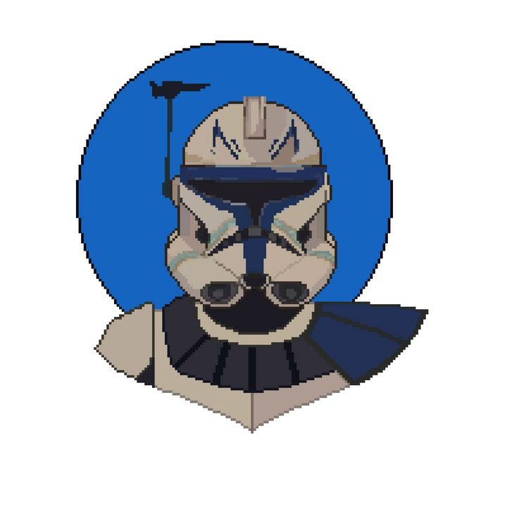 Captain Rex - pixelart