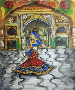 Ghoomar (Dancing Lady)