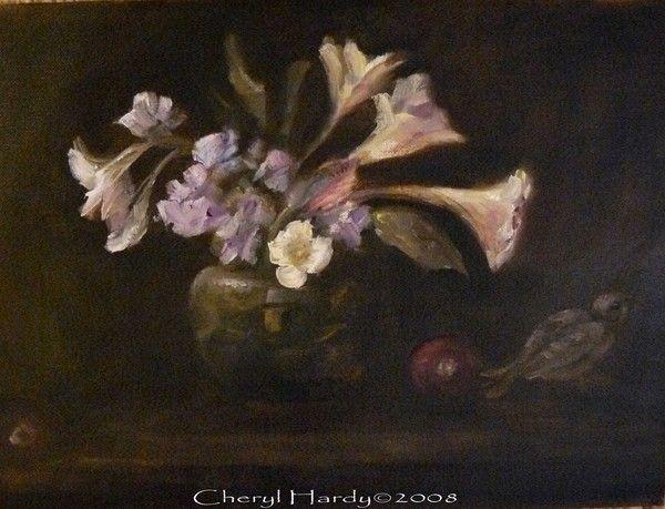 """""""Lillies"""" - Cheryl Ann Hardy Fine Art"""