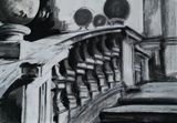 Original pastel: Stairs