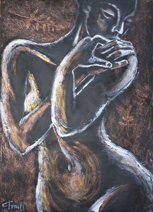 Golden Fern 3 - Female Nude - Carmen Tyrrell