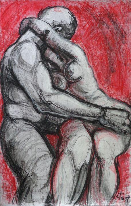 Lovers - Kiss 5 - Rodin - Carmen Tyrrell
