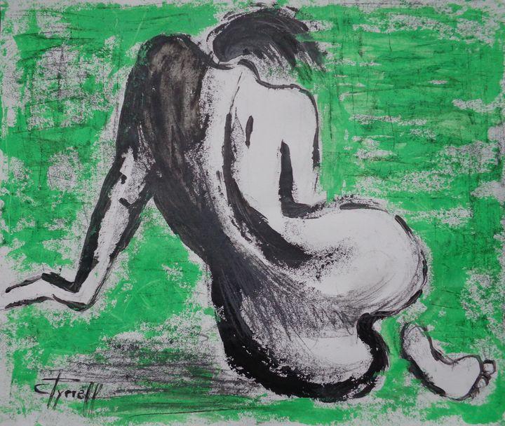 Curves 37 - Female Nude - Carmen Tyrrell