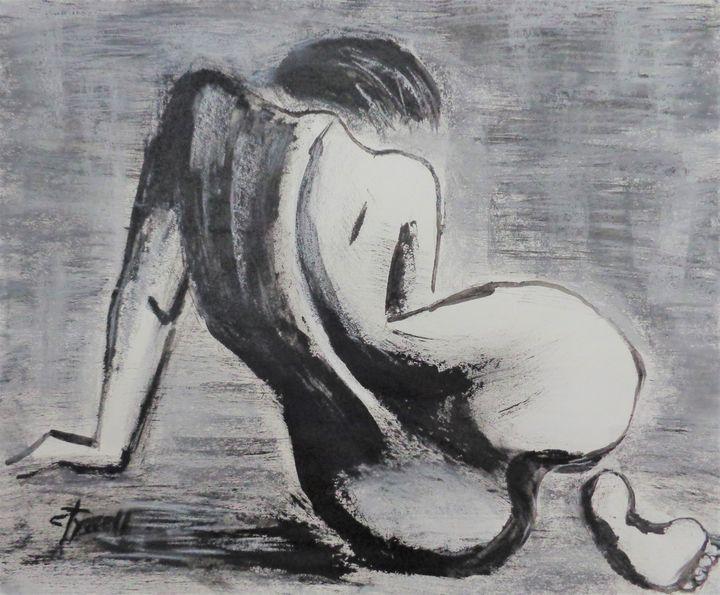 Curves 38 - Female Nude - Carmen Tyrrell