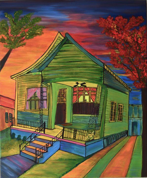 Green house - ArtByTamanaPathak
