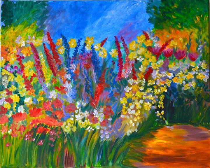 Flowers - ArtByTamanaPathak