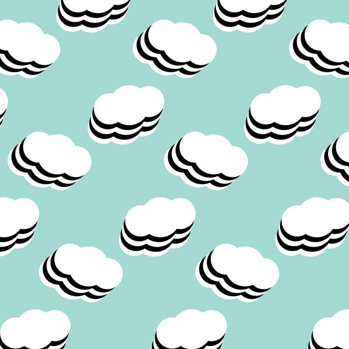 Layered clouds - Jouska