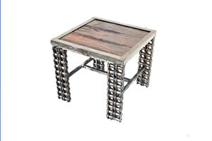 Rustic Reclaimed Wood Table