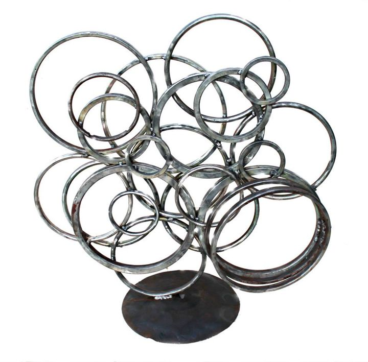 Mind on Steroids - Raymond Guest Metal Art at Recycled Salvage Design