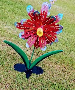 Metal Art Flower