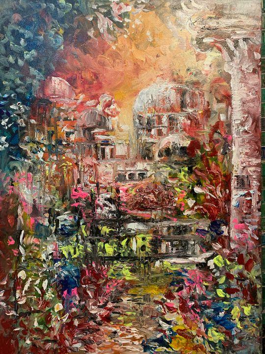 """FIRE CITY OF SODOM"" - DIOSO ARTIST"