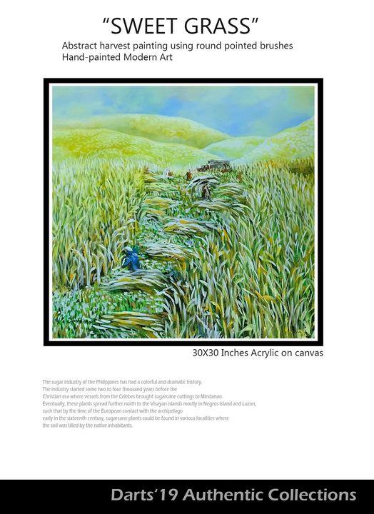 SWEET GRASS - DIOSO ARTIST